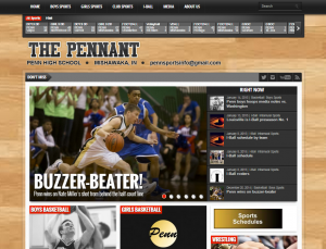 I was the sole developer for this website for Penn High Schools sports news group.  ThePennant.com